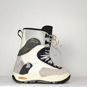 Jazdené Poškodené Snowboardové topánky DEELUXE Grey/Blue 24.5
