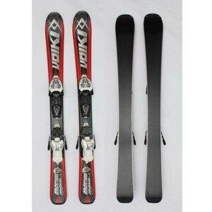 Jazdené bazárové lyže VÖLKL Racetiger Red-Black 100 cm