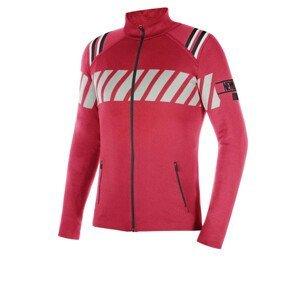 NEWLAND Man Full Zip Red/Black Čierno-červená XL