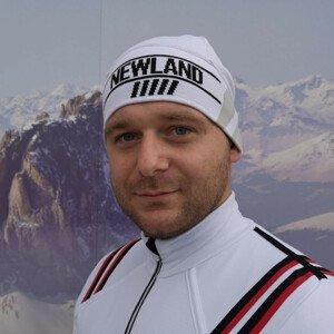 NEWLAND Man Beanie White/Black Čierno-biela UNI