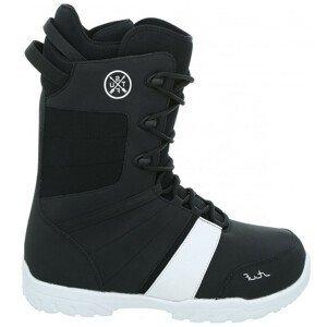 Snowboardová obuv STUF Pure 2.0 Black/White Čierno-biela 45