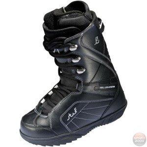 Snowboardová obuv STUF Pure Jr Čierna 22.0