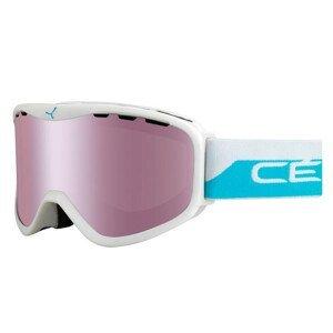 Lyžiarske okuliare CÉBÉ Ridge White / Blue Bielo-modrá Normálna veľkosť