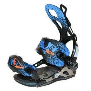 Snowboardové viazanie SP Fastec Alu Black / Blue Čierno-modrá S
