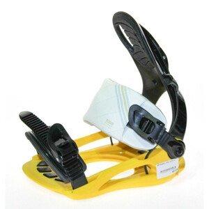 Snowboardové viazanie SP Plastic Yellow Žltá L