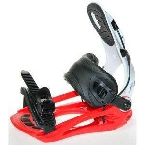 Snowboardové viazanie SP Plastic White / Red Bielo-červená XL