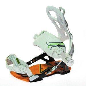 Snowboardové viazanie SP Fastec ALU Orange / White Oranžová L