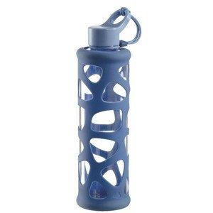 Sklenená fľaša LEONARDO In Giro To Go Blau 500ml Modrá