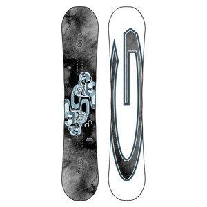 Snowboard GNU Carbon Credit Sivá 153 cm