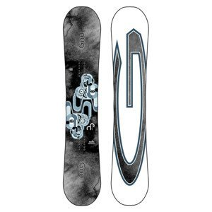 Snowboard GNU Carbon Credit Sivá 159W cm