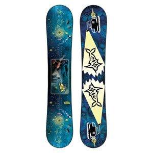 Snowboard GNU Finest Modrá 155W cm