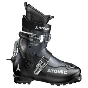 Skialpinistické lyžiarky ATOMIC Backland Sport Black/Dark Blue Čierna 27.0/27.5