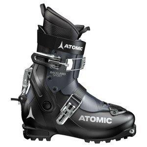Skialpinistické lyžiarky ATOMIC Backland Sport Black/Dark Blue Čierna 30.0/30.5