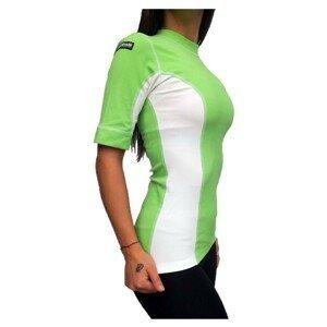 Termo tričko BERKNER Action s krátkym rukávom Zelená L