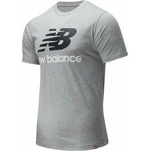 Tričko New Balance M NB ESSENTIALS STACKED LOGO TEE