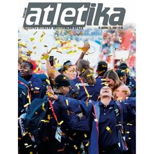 Časopis Top4Running Časopis Atletika - 3/2018