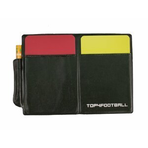 Sada kariet Top4Football WARNING CARD (CARD SET (RED, YELLOW AND PAPER RECORD)