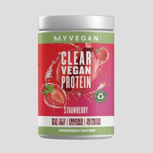 Clear Vegan Protein - 20servings - Jahodová