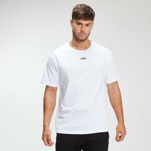 Pánske voľnočasové tričko - Biele - S