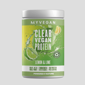 Clear Vegan Protein - 640g - Citrón a Limetka