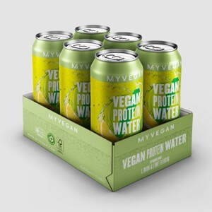 Vegánska sýtená bielkovinová voda - 6 x 330ml - Lemon Lime