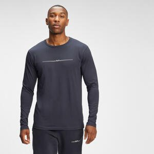 MP Men's Mini Mark Graphic Long Sleeve T-Shirt - Graphite - XXS