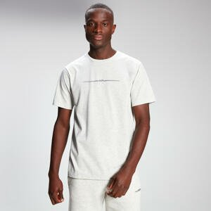 MP Men's Mini Mark Graphic Short Sleeve T-Shirt - Light Grey Marl - L