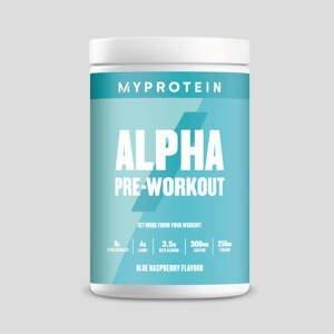 Predtréningový stimulant Alpha Pre-Workout - 600g - Modrá Malina