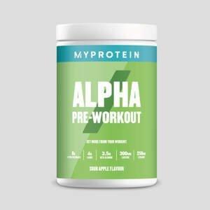 Predtréningový stimulant Alpha Pre-Workout - 600g - Sour Apple