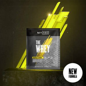 Myprotein THE Whey V2 (Sample) - 1servings - Banán