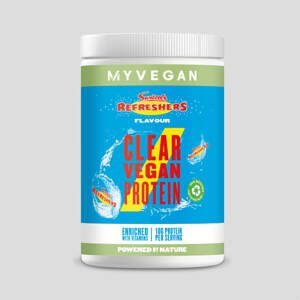 Clear Vegan Protein - 10servings - Swizzels - Refreshers