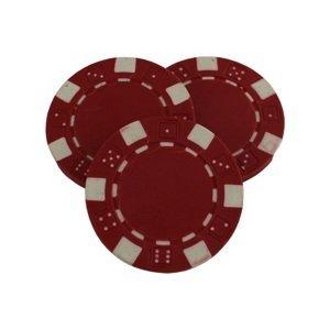 Poker žetón MASTER - červený