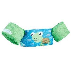 Plávací top SEVYLOR plaváčik modro-zelený - korytnačka