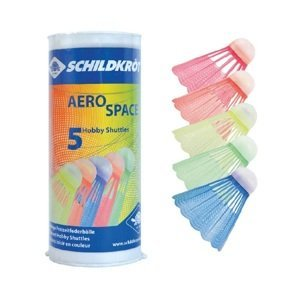 Bedmintonové loptičky SCHILDKROT Aero Space 5ks