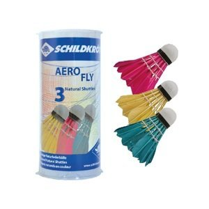 Bedmintonové loptičky SCHILDKROT Aero Fly 3ks