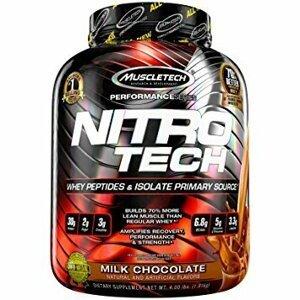 MuscleTech Nitro-Tech Performance 1800 g banán