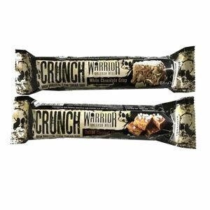 Warrior CRUNCH Bar 64 g horká čokoláda arašidové maslo