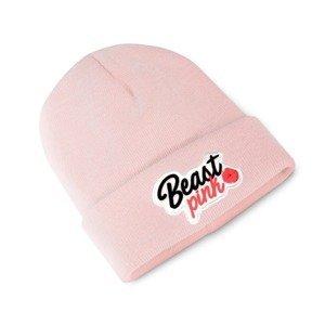 Beastpink Zimná čiapka Beanie Baby Pink  uni