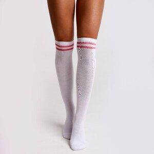 Beastpink Knee High Socks White  40 - 42