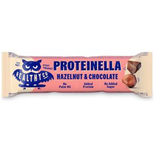 HealthyCo Proteinella bar 35 g lieskový orech čokoláda
