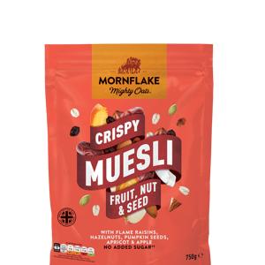 Mornflake Crispy Muesli ovoce, oříšky, semínka 750 g