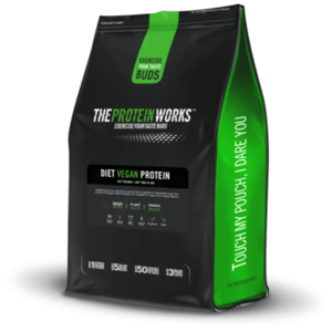TPW Diet Vegan Protein 1000 g vanilkový krém