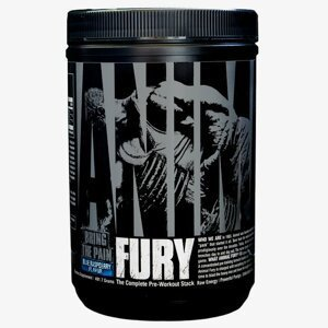 Universal Nutrition Animal Fury 330 g zelené jablko
