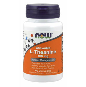 Now Foods L-Theanine stresový manažment 100 mg 90 kapsúl