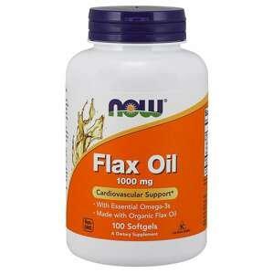 NOW Foods Ľanový olej 1000 mg 250 kaps.