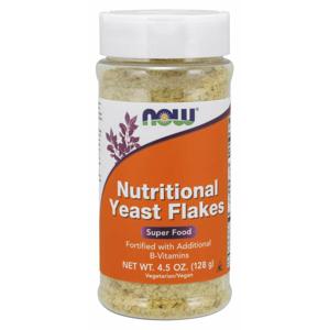 NOW Foods Výživné kvasnicové vločky 128 g