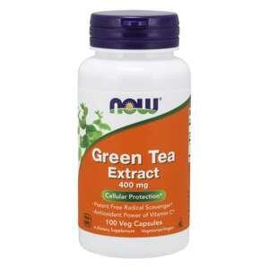 NOW Foods Extrakt zeleného čaju 400 mg 100 kapsúl