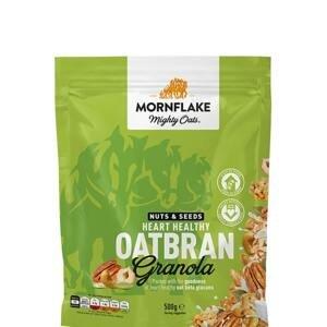 Mornflake Granola Nuts & Seeds Heart Healthy Oatbran 500 g