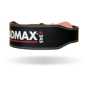 MADMAX Fitness opasok Full Leather Black  M