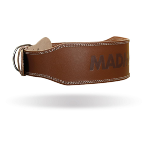 MADMAX Fitness opasok Full Leather Chocolate Brown  L